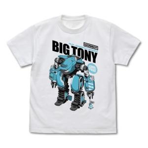 サクガン グッズ ビッグトニー&トニー Tシャツ WHITE Sサイズ コスパ【予約/12月末〜1月上旬】|alice-sbs-y