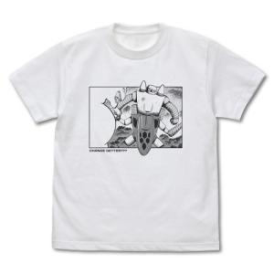 ゲッターロボ 原作版 「俺の知ってるゲッターじゃない〜〜っ」失敗ゲッター Tシャツ WHITE Sサイズ コスパ【予約/12月末〜1月上旬】|alice-sbs-y