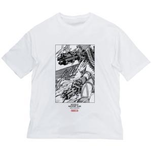 ゲッターロボ 原作版 ゲッターロボ ミサイルマシンガンVer. ビッグシルエットTシャツ WHITE XLサイズ コスパ【予約/12月末〜1月上旬】|alice-sbs-y
