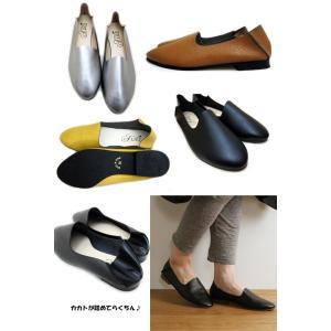 シンプル フラット バブーシュ プレーン 日本製 ハンドメイド ラウンドトゥ バレエパンプス バレーシューズ ローヒール レディース靴 レディース 送料無料|alice-shoes|02