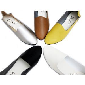 シンプル フラット バブーシュ プレーン 日本製 ハンドメイド ラウンドトゥ バレエパンプス バレーシューズ ローヒール レディース靴 レディース 送料無料|alice-shoes|03