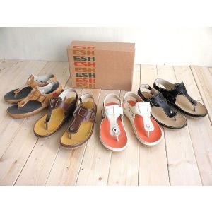 送料無料♪ぴったりフィットのESHカジュアルトングサンダル♪|alice-shoes
