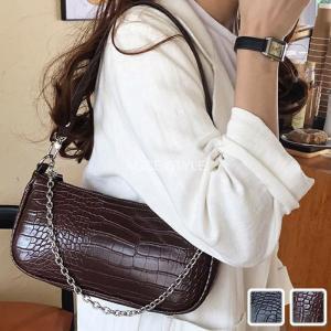 ミニショルダーバッグ ミニポーチバッグ クロコ型押し 女性バッグ レディース ミニバッグ かわいい|alice-style