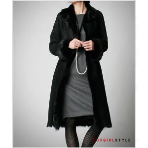 毛皮 スウェード・ロングコート 高級感なレディースモダンファッション 新作