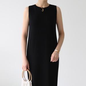ワンピース レディース 40代 50代 60代 ファッション おしゃれ 女性 上品  黒  白 ノースリーブ 無地 きれいめ 膝丈 春夏 ミセス alice-style