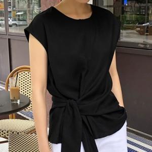 トップス レディース 40代 50代 60代 ファッション おしゃれ 女性 上品  黒  白 Tシャツ 無地 半袖 春夏 ミセス alice-style