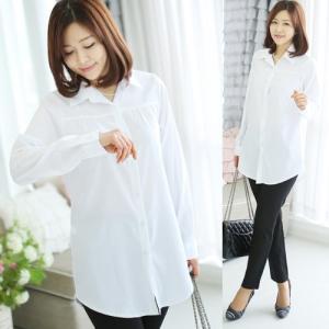 ブラウス レディース 40代 50代 60代 ファッション 女性 上品  白 長袖 無地 きれいめ 通勤 春夏 ミセス|alice-style