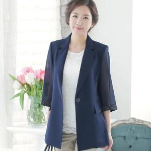 ジャケット レディース 40代 50代 60代 ファッション 女性 上品 シースルー 薄手 きれいめ 春夏 ミセス|alice-style