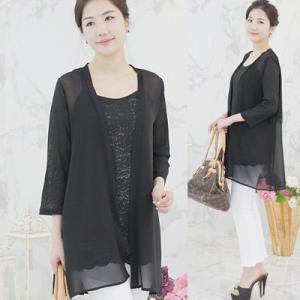カーディガン レディース 40代 50代 60代 ファッション 女性 上品  黒  白 薄手 きれいめ 春夏 ミセス|alice-style