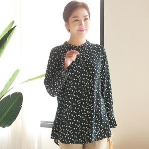 ブラウス レディース 40代 50代 60代 ファッション 女性 上品 シャツ 長袖 小花柄 きれいめ 春夏 ミセス|alice-style