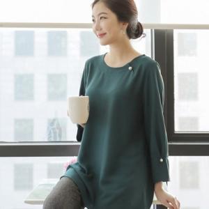 ブラウス レディース 40代 50代 60代 ファッション 女性 上品  赤 長袖 無地 きれいめ 通勤 春夏 ミセス|alice-style
