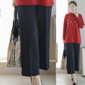 パンツ レディース 40代 50代 60代 ファッション 女性 上品  黒  紺 青 スラックス 春夏 ミセス|alice-style