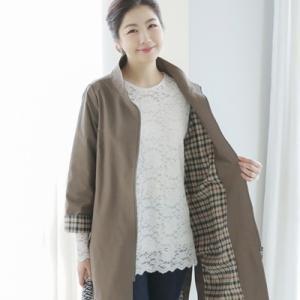 ジャケット レディース 40代 50代 60代 ファッション 女性 上品  ベージュ  紺 青 ロング丈 きれいめ 春夏 ミセス|alice-style