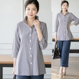 ブラウス レディース 40代 50代 60代 ファッション 女性 上品 シャツ 7分袖 きれいめ 通勤 春夏 ミセス|alice-style