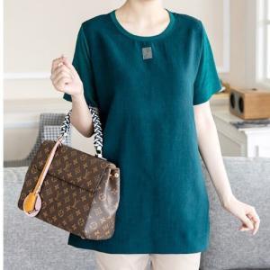 ブラウス レディース 40代 50代 60代 ファッション 女性 上品 トップス 半袖 Tシャツ きれいめ 春夏 ミセス|alice-style