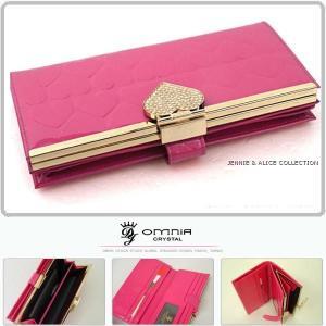 長財布 レディース 財布 がま口 二つ折れ 本革 ブランド|alice-style