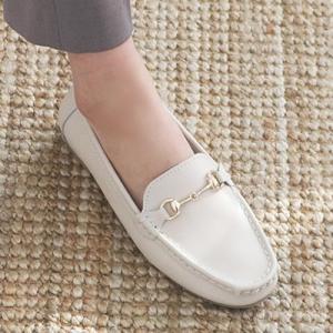 フラットシューズ レディース オペラパンプス ペタンコ 本革 レザー 2019 春 ファッション 靴 婦人靴 黒 白 ベージュ|alice-style