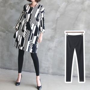 レギンスパンツ レディース 40代 50代 60代 ファッション おしゃれ 女性 上品  黒  グレー 伸縮性の良いレギンス 無地 冬 ミセス|alice-style