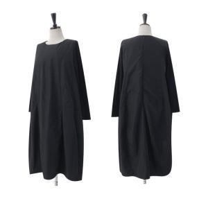 ワンピース レディース 40代 50代 60代 ファッション 女性 上品 ミセス 黒 体型カバー きれいめ 高級感|alice-style|05