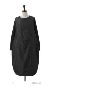 ワンピース レディース 40代 50代 60代 ファッション 女性 上品 ミセス 黒 体型カバー きれいめ 高級感|alice-style|06