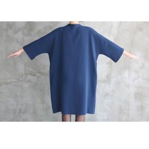 ワンピース レディース きれいめ ワンピ 黒 40代 50代 60代 ファッション 女性 上品 ミセス 体型カバー 大人 ボウタイ 大きいサイズ  春|alice-style|05