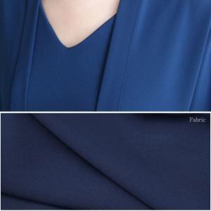 ワンピース レディース きれいめ ワンピ 黒 40代 50代 60代 ファッション 女性 上品 ミセス 体型カバー 大人 ボウタイ 大きいサイズ  春|alice-style|06