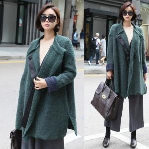 コート レディース ビッグシルエット オーバーサイズ ゆったり アルパカ混 50代 40代 ファッション 女性 レディース alice-style