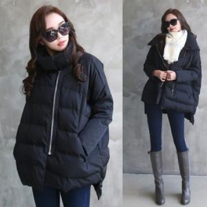 コート ハーフ丈 ジップアップ 50代 40代 ファッション 女性 レディース alice-style