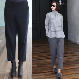 パンツ レディース 40代 50代 60代 ファッション おしゃれ 女性 上品 グレー 切開 ポイント パンツ 無地 冬 ミセス|alice-style