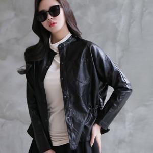 ジャケット レディース 大人 ハーフ丈 ノーカラー 2018 春 50代 40代 60代 ファッション 女性 黒|alice-style