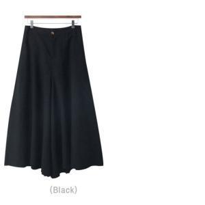 パンツ レディース ワイドパンツ 2018 春 50代 40代 60代 ファッション 女性 黒 ベージュ|alice-style|05