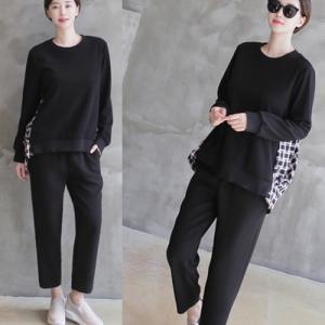 パンツ レディース 40代 50代 60代 ファッション おしゃれ 女性 上品 黒 グレー 腰バンディングシャーリングスラックス サイドポケット無地|alice-style