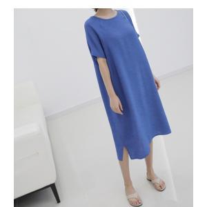 ワンピース レディース 無地 半袖 膝丈 きれいめ 通勤 50代 40代 60代 ファッション 女性 上品 ミセス 黒 グレー alice-style 13