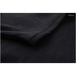 ワンピース レディース 無地 半袖 膝丈 きれいめ 通勤 50代 40代 60代 ファッション 女性 上品 ミセス 黒 グレー alice-style 15