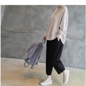 パンツ レディース 大人 ロングパンツ 2018 秋冬 冬 50代 40代 ファッション 女性 カーキ 緑|alice-style|04