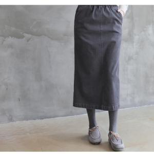 スカート レディース 大人 ロング丈 無地 2018 秋冬 冬 50代 40代 ファッション 女性 ベージュ グレー|alice-style|19
