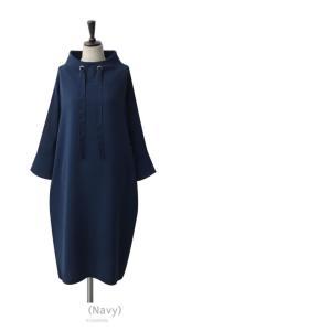 ワンピース レディース 40代 50代 60代 ファッション 女性 上品 ミセス 黒 春夏 大きいサイズ 体型カバー 高級感 きれいめ|alice-style|15