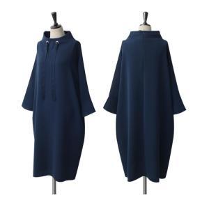 ワンピース レディース 40代 50代 60代 ファッション 女性 上品 ミセス 黒 春夏 大きいサイズ 体型カバー 高級感 きれいめ|alice-style|16