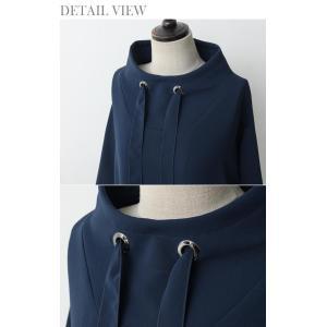 ワンピース レディース 40代 50代 60代 ファッション 女性 上品 ミセス 黒 春夏 大きいサイズ 体型カバー 高級感 きれいめ|alice-style|17