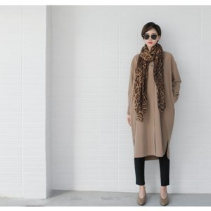 ワンピース 上品 レディース 大人 秋冬 40代 50代 60代 ファッション 女性 ミセス 黒 ベージュ カーキ 緑|alice-style|03