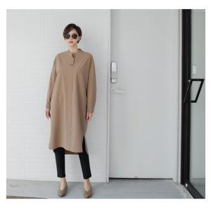 ワンピース 上品 レディース 大人 秋冬 40代 50代 60代 ファッション 女性 ミセス 黒 ベージュ カーキ 緑|alice-style|06
