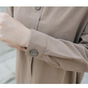 ワンピース 上品 レディース 大人 秋冬 40代 50代 60代 ファッション 女性 ミセス 黒 ベージュ カーキ 緑|alice-style|08