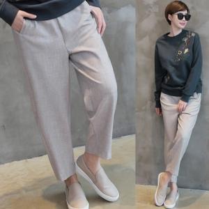 パンツ 2018 秋冬 冬 50代 40代 ファッション 女性 黒 ベージュ alice-style