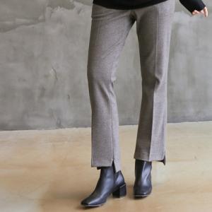 パンツ レディース 40代 50代 60代 ファッション おしゃれ 女性 上品  茶色  グレー スラックス きれいめ 秋 ミセス|alice-style