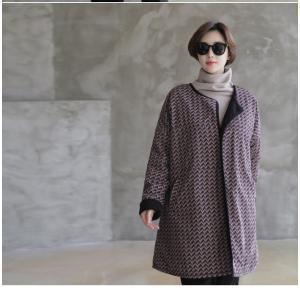 ジャケット レディース 大人 ハーフ丈 2018 秋冬 冬 50代 40代 ファッション 女性 黒|alice-style|11
