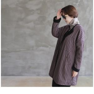 ジャケット レディース 大人 ハーフ丈 2018 秋冬 冬 50代 40代 ファッション 女性 黒|alice-style|05