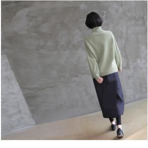 スカート レディース 40代 50代 60代 ファッション おしゃれ 女性 上品  黒  紺 青 ロング丈 ロングスカート 秋 ミセス|alice-style|04