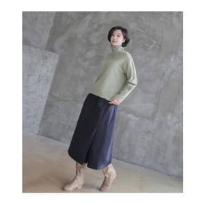 スカート レディース 40代 50代 60代 ファッション おしゃれ 女性 上品  黒  紺 青 ロング丈 ロングスカート 秋 ミセス|alice-style|05