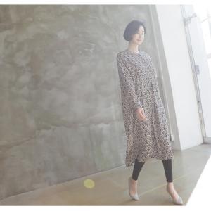 ワンピース レディース 40代 50代 60代 ファッション 女性 上品  黒 柄 長袖 ロング丈 ロングワンピース 春 ミセス きれいめ 大きいサイズ alice-style 14