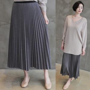 スカート レディース 40代 50代 60代 ファッション 女性 上品  黒 イエロー 黄色 ベージュ グレープリーツ ロング丈 きれいめ 春 ミセス|alice-style